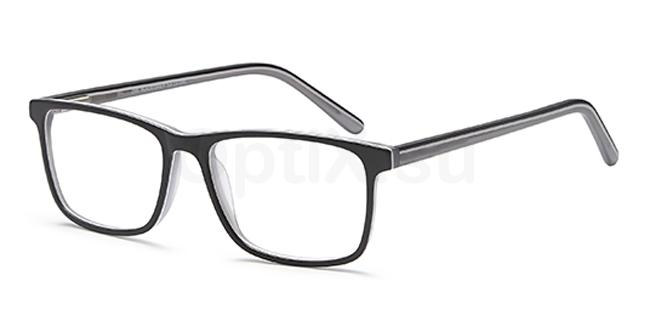 Black/Grey D96 Glasses, Brooklyn