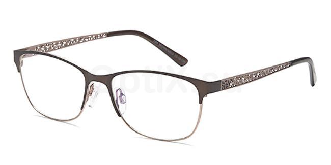 Brown/Gold D99 Glasses, Brooklyn
