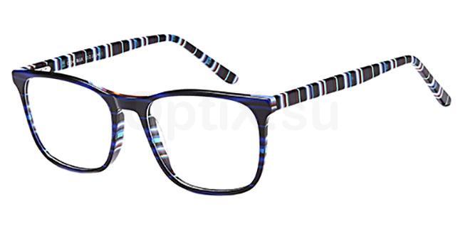 Blue D104 Glasses, Brooklyn