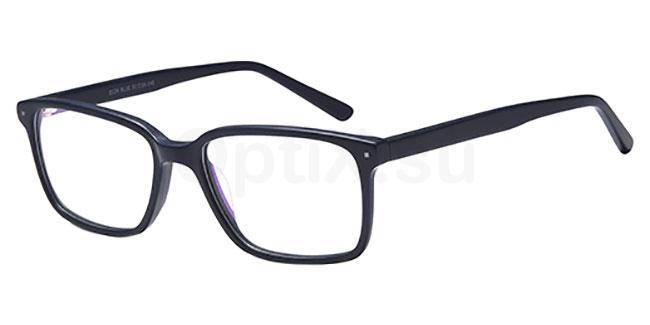 Blue D124 Glasses, Brooklyn