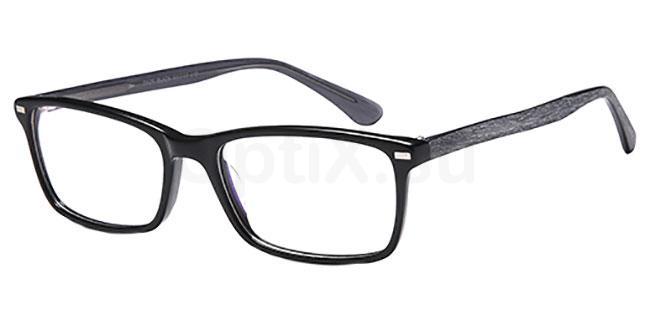 Black D125 Glasses, Brooklyn