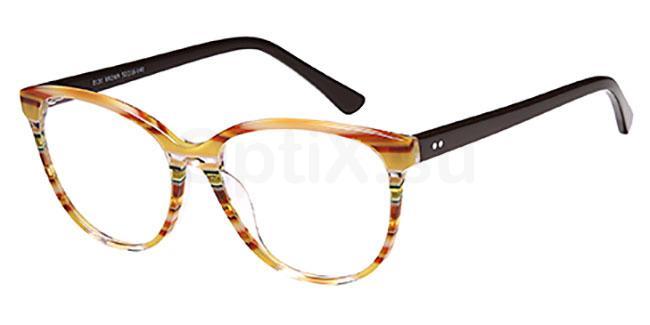 Brown D131 Glasses, Brooklyn