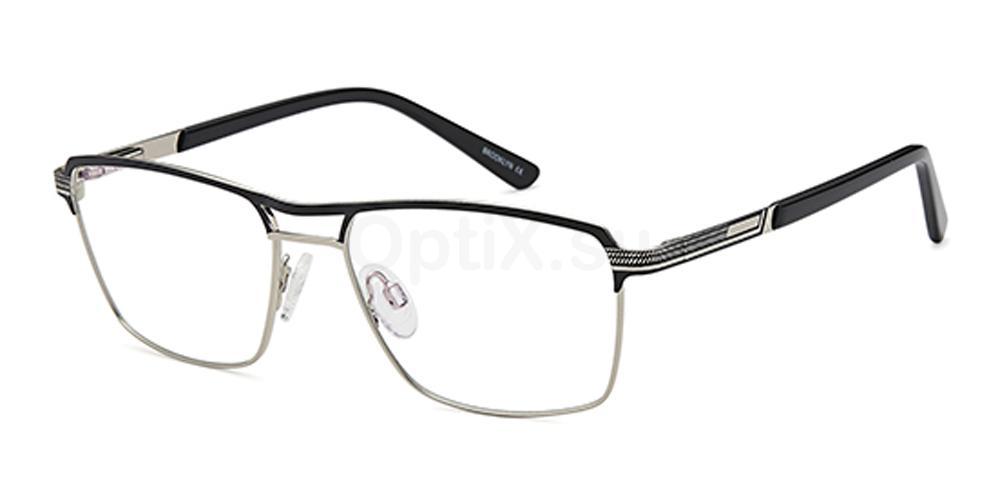 Black D138 Glasses, Brooklyn