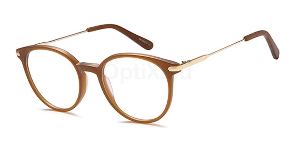 Brown D140 Glasses, Brooklyn