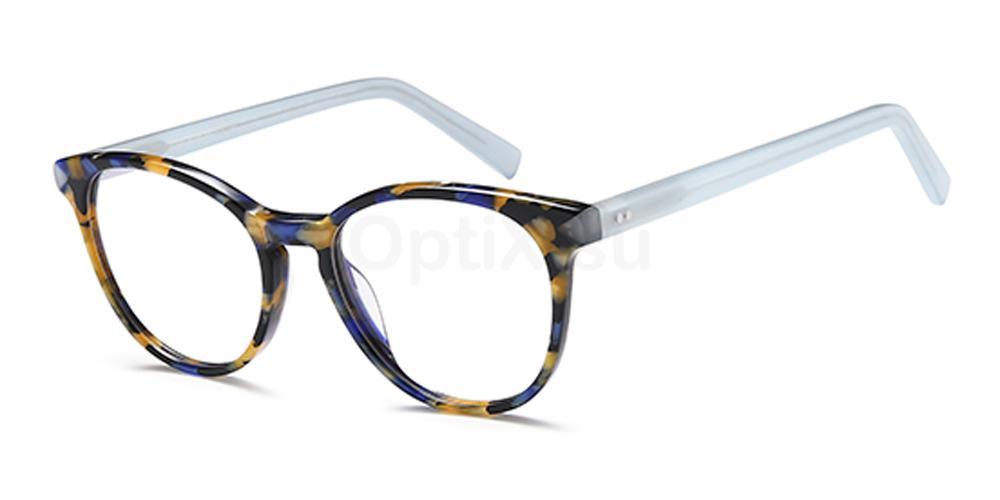Blue D144 Glasses, Brooklyn