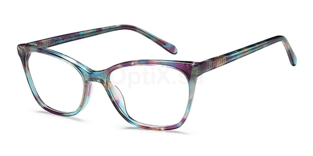 Green D146 Glasses, Brooklyn