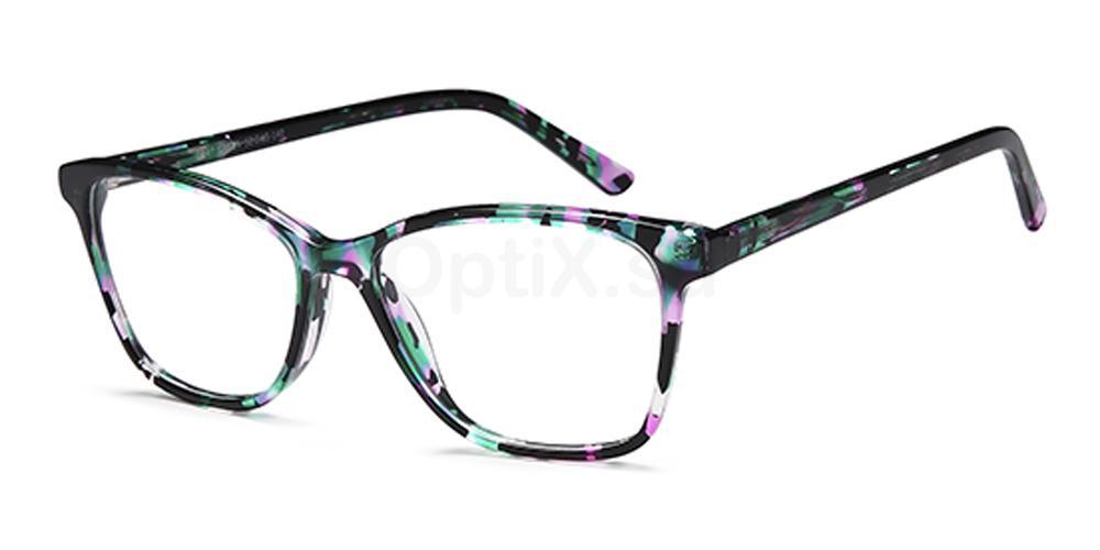 Green D147 Glasses, Brooklyn