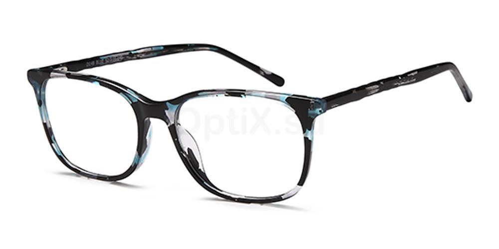 Blue D148 Glasses, Brooklyn