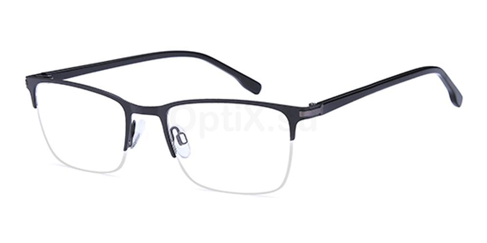 Black D158 Glasses, Brooklyn