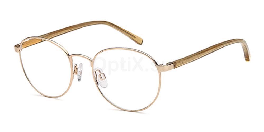Gold D162 Glasses, Brooklyn