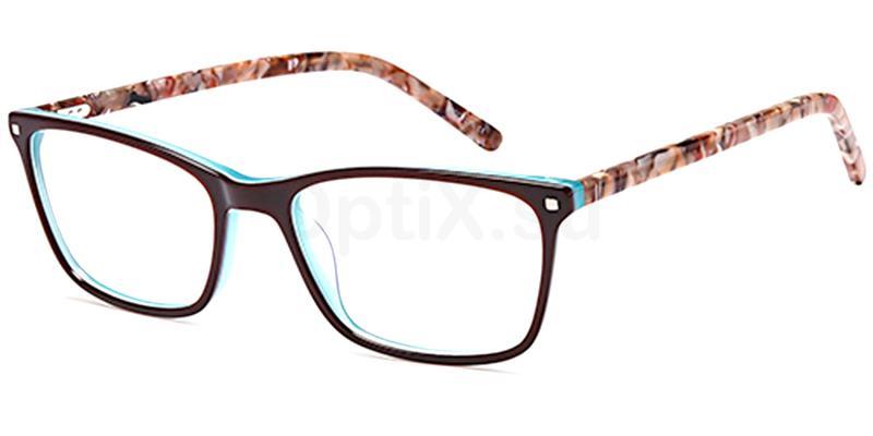 Brown D176 Glasses, Brooklyn