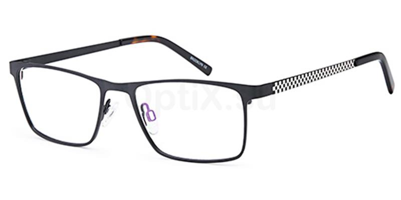 Black D183 Glasses, Brooklyn