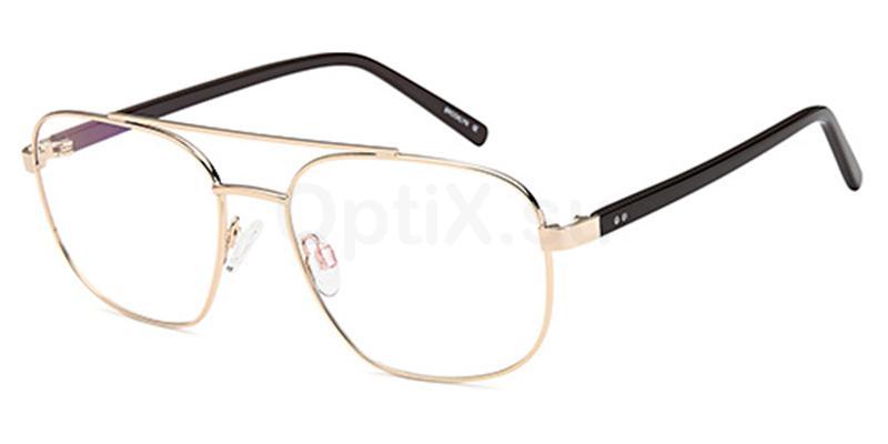 Gold D188 Glasses, Brooklyn