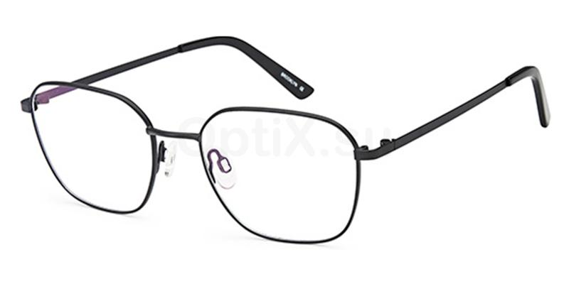 Black D190 Glasses, Brooklyn