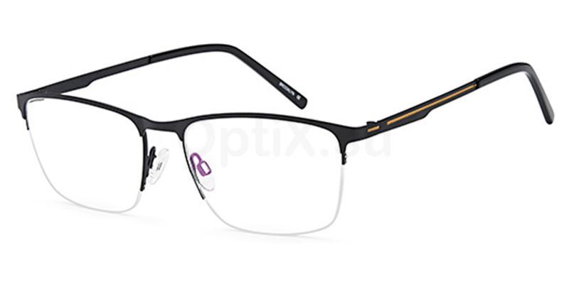 Black D193 Glasses, Brooklyn