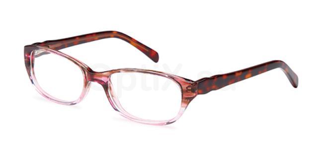 Pink DEL88 Glasses, Delancy