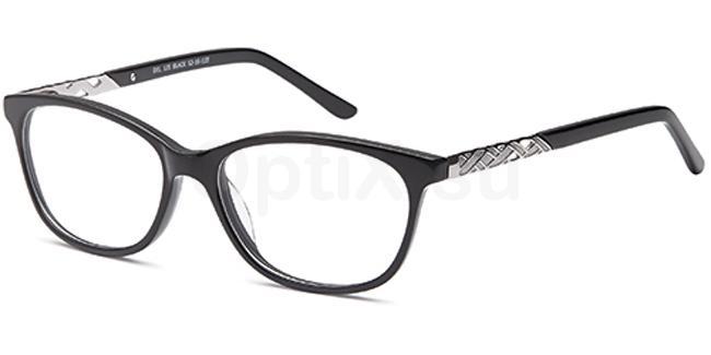 Black DEL125 Glasses, Delancy