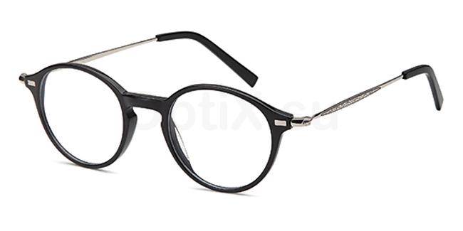 Black DEL132 Glasses, Delancy