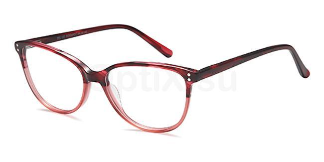 Burgundy DEL137 Glasses, Delancy