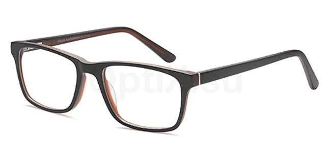Black/Brown DEL138 Glasses, Delancy