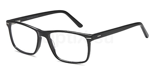 Black DEL139 Glasses, Delancy