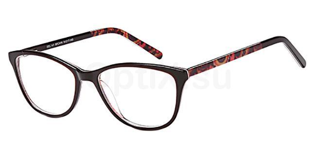 Brown DEL 141 Glasses, Delancy