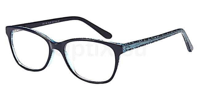 Blue DEL 142 Glasses, Delancy