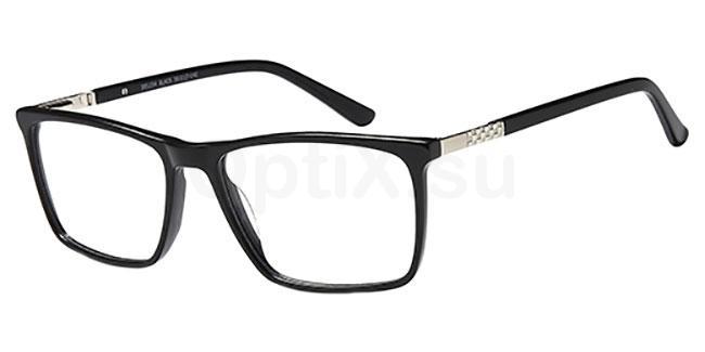 Black DEL 154 Glasses, Delancy