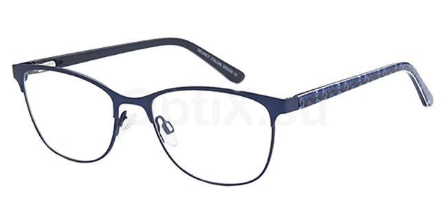 Blue DEL 155 Glasses, Delancy