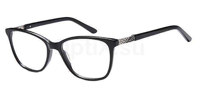 Black DEL 158 Glasses, Delancy