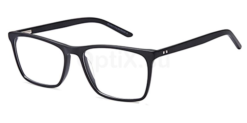 Black DEL 163 Glasses, Delancy