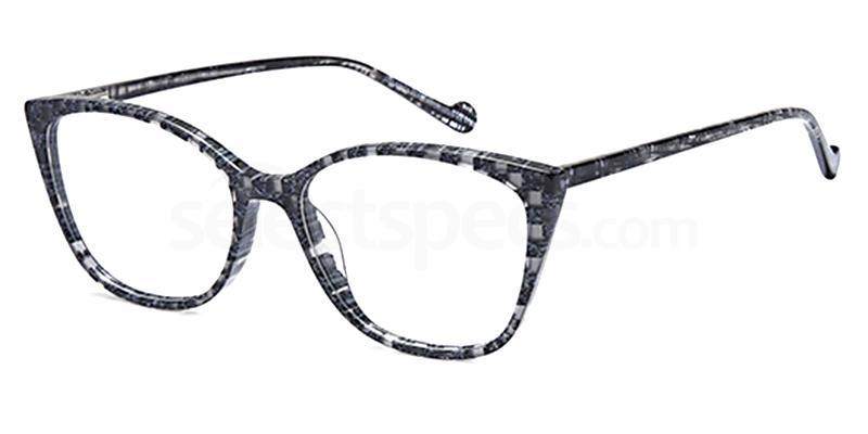 Grey DEL 164 Glasses, Delancy