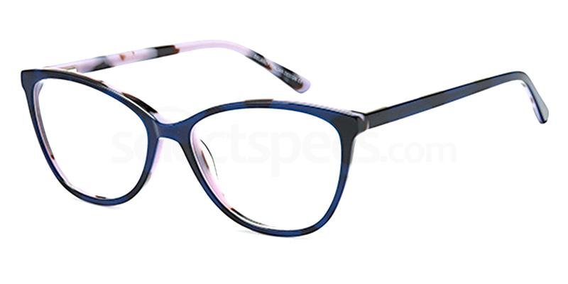 Blue DEL 165 Glasses, Delancy