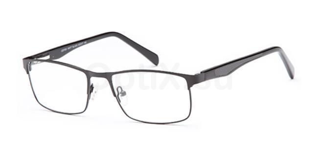 Matt Black CD7091 Glasses, Carducci