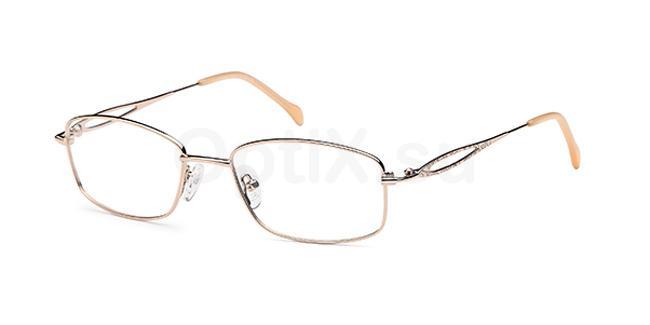 Gold CD7100 Glasses, Carducci