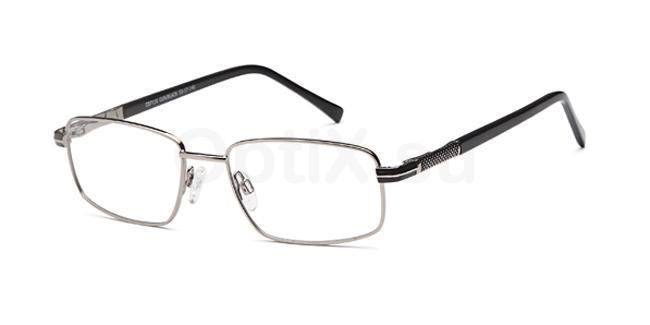 Gun/Black CD7110 Glasses, Carducci