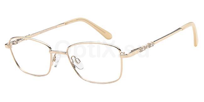 Gold CD7143 Glasses, Carducci