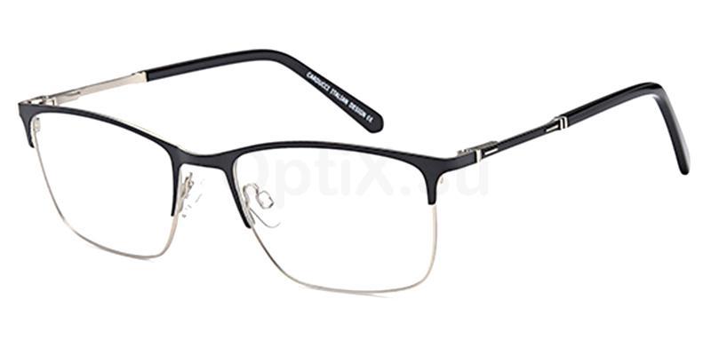 Black/Silver CD7153 Glasses, Carducci