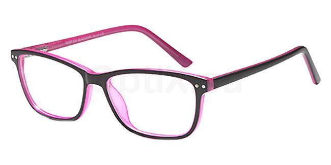 Black/Pink MONT924 Glasses, MONTEREY TEENS