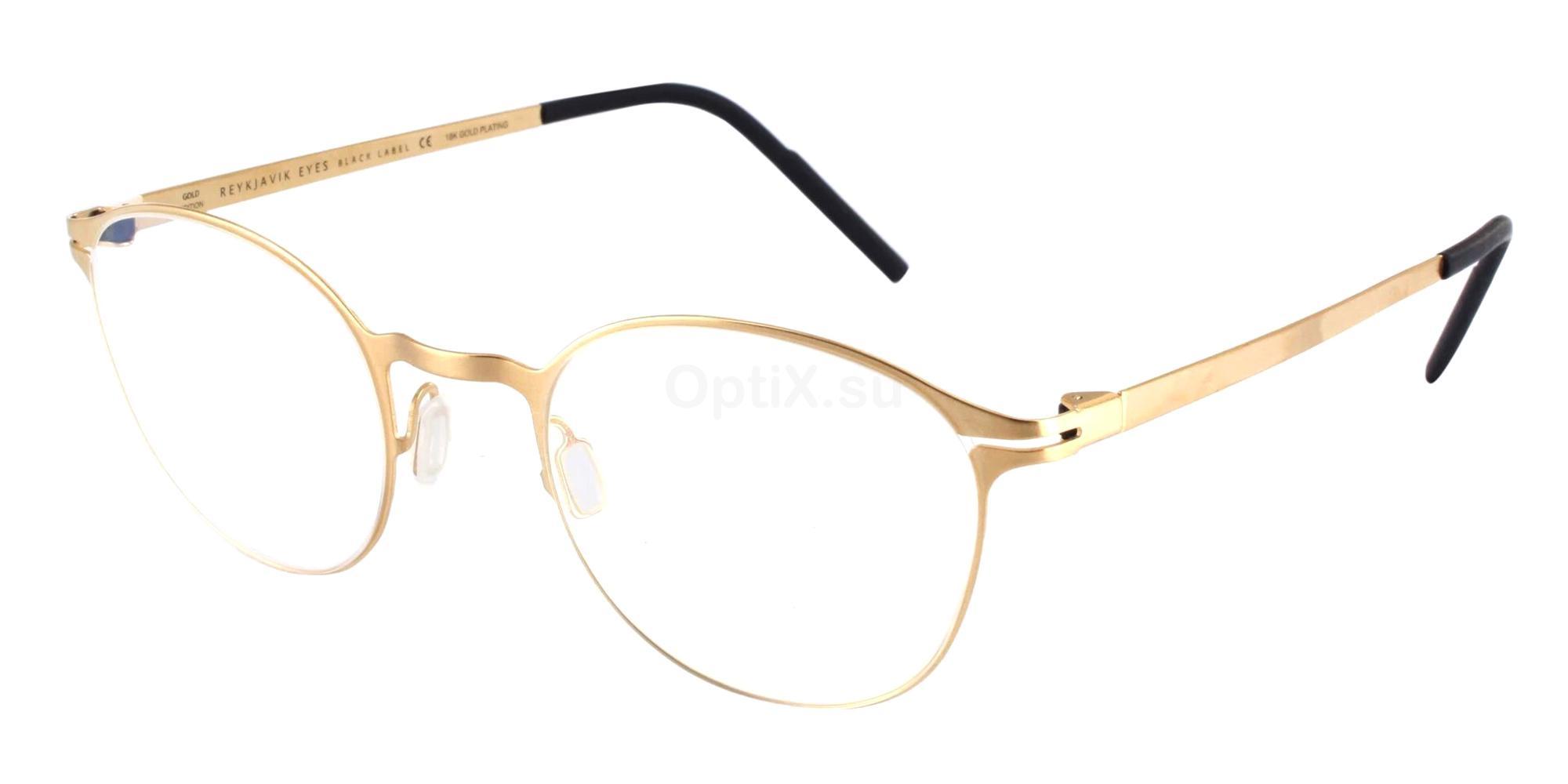 REG/KRA KRAFLA GOLD EDITION Glasses, Reykjavik Eyes Black Label
