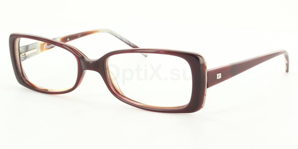Burgundy 66.1105.020 (Burgundy) Glasses, SelectSpecs