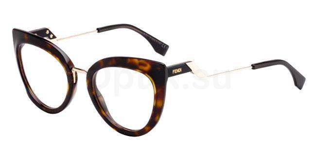 086 FF 0334 Glasses, Fendi