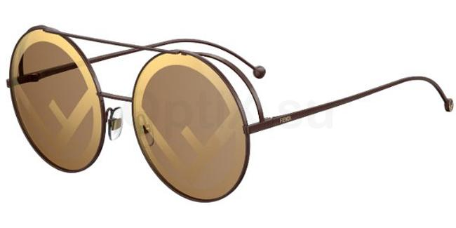 09Q  (EB) FF 0285/S Sunglasses, Fendi