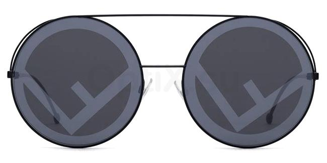 807  (MD) FF 0285/S Sunglasses, Fendi