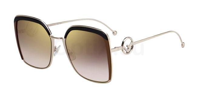 09Q (JL) FF 0294/S Sunglasses, Fendi