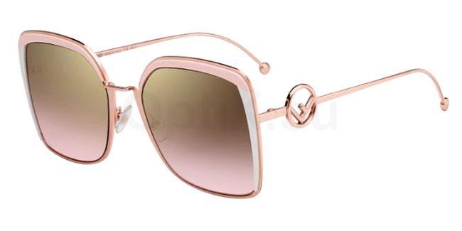 35J (53) FF 0294/S Sunglasses, Fendi