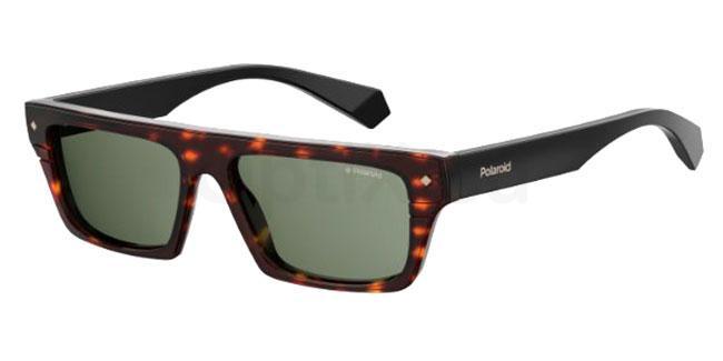 086 (UC) PLD 6085/S/X Sunglasses, Polaroid Premium Collection