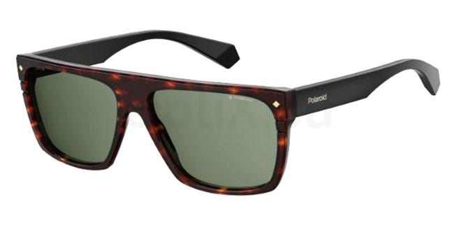 086 (UC) PLD 6086/S/X Sunglasses, Polaroid Premium Collection
