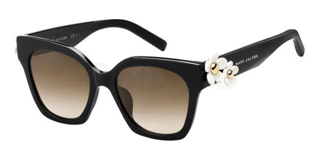 807 (HA) MARC DAISY/S Sunglasses, Marc Jacobs