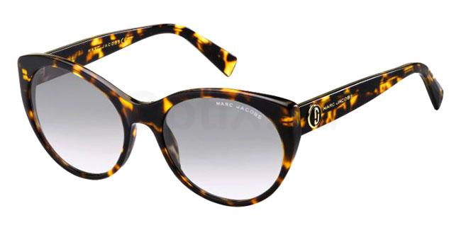 086 (9O) MARC 376/S Sunglasses, Marc Jacobs